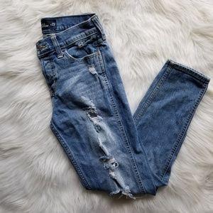 Hollister vintage boyfriend jeans size 00